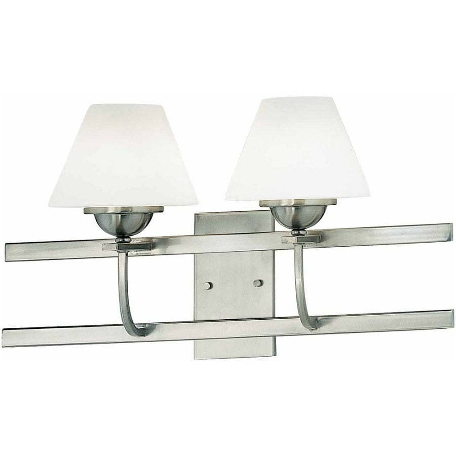wide double sconce