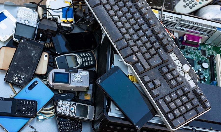 electronics drop off