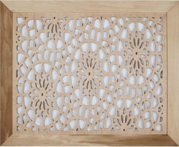 floral grille covers