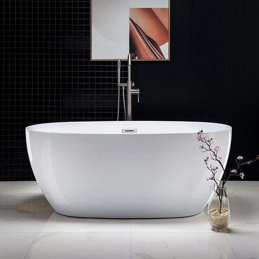 small soaking tub