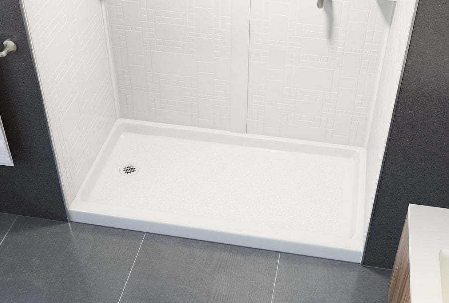 swan solid surface shower pan