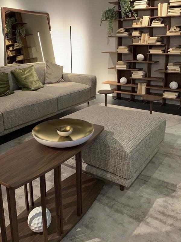 coffee table and ottoman