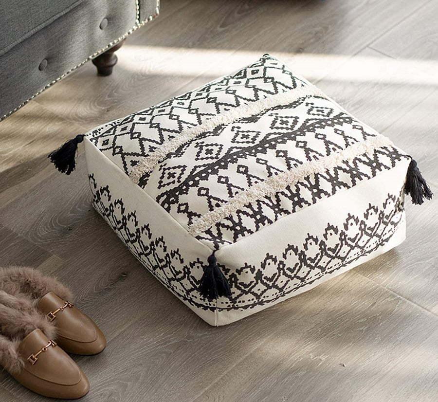 floor cushion pouf