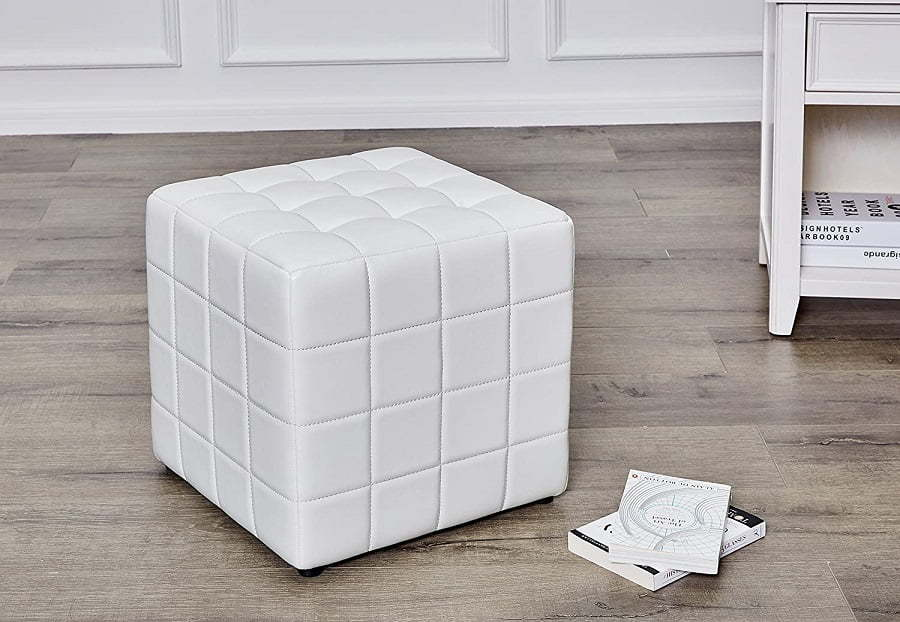large cube ottoman