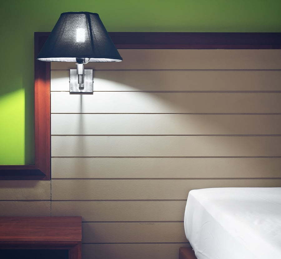 headboard with lighting