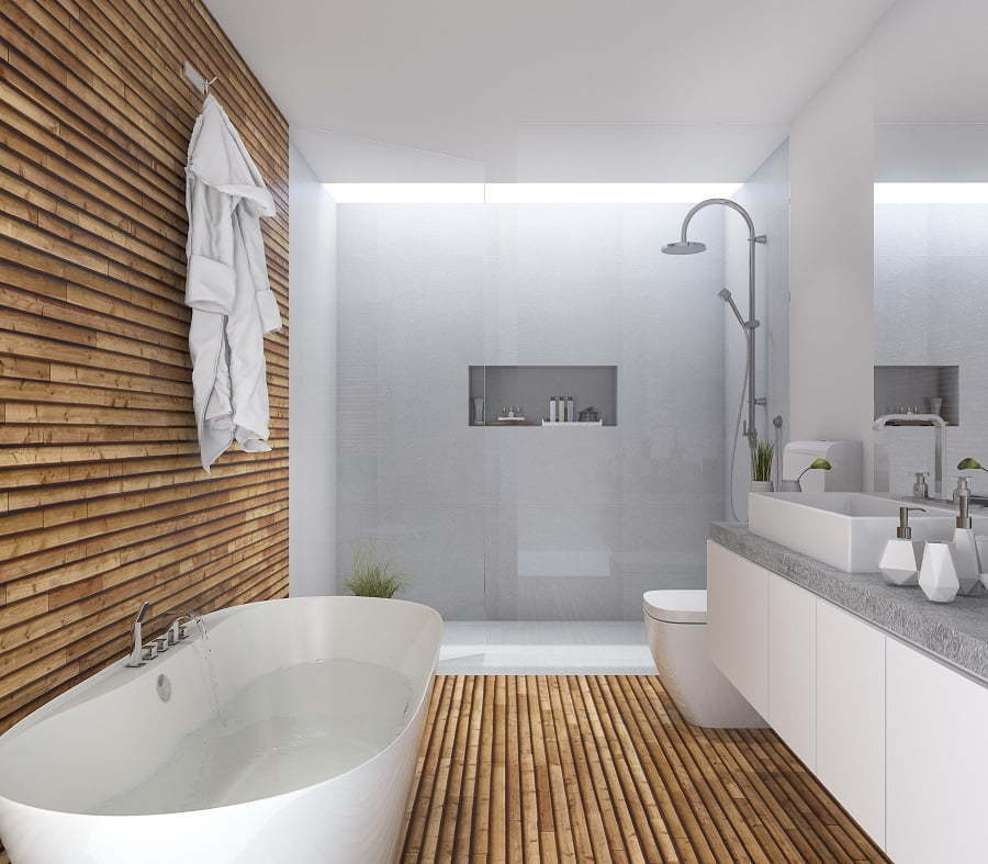 bathroom tile alternatives