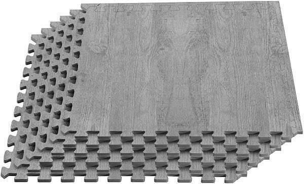 rubber flooring tile