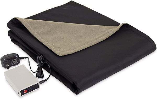 battery powered electric blanket