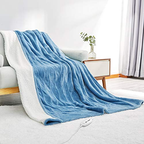 Electric Heated Blanket Twin Size 62