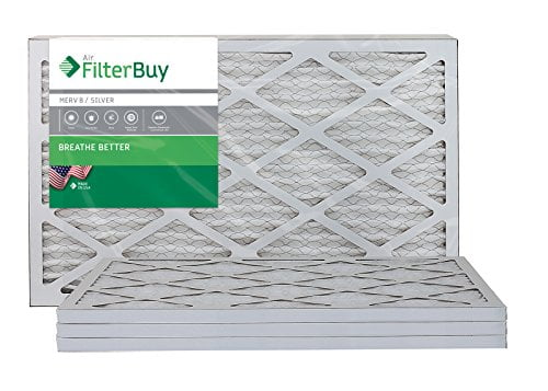 FilterBuy MERV 8 Pleated AC Furnace Air Filter
