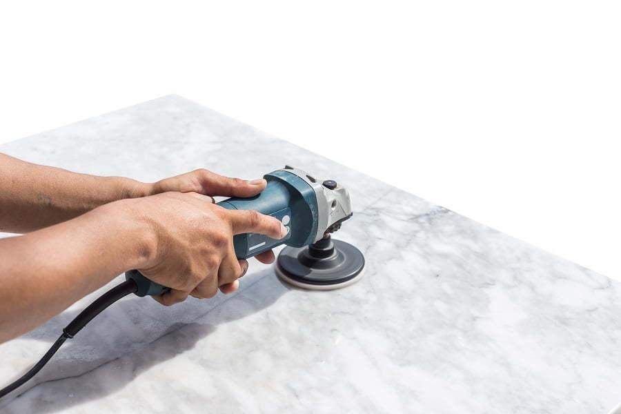 makita angle grinder polishing
