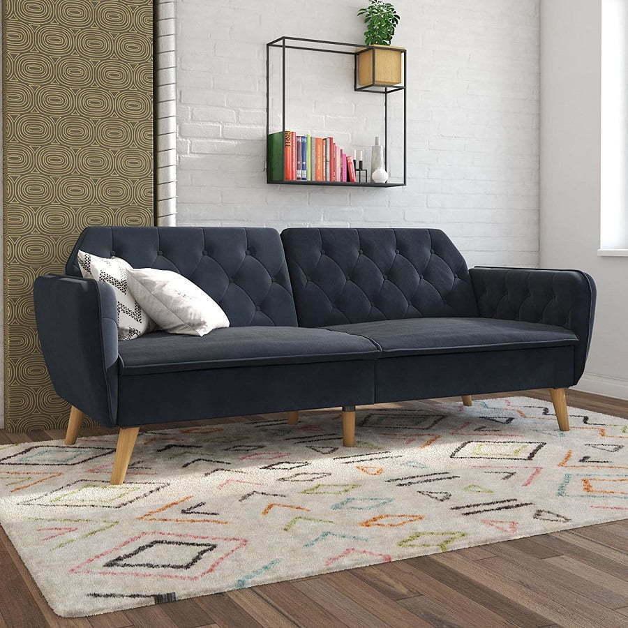 tallulah memory foam futon