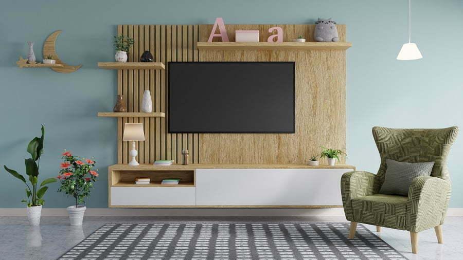 tv wall decor
