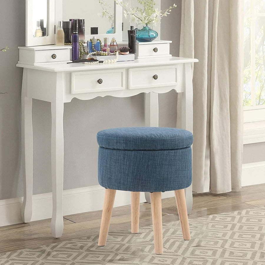 vanity stool ottoman
