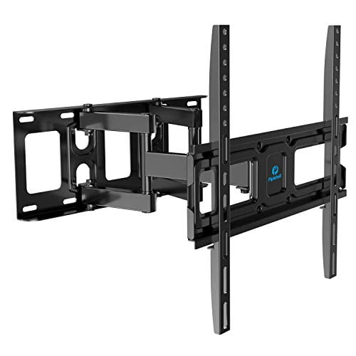 TV Wall Mount Bracket Full Motion Dual Swivel Articulating Arms Extension