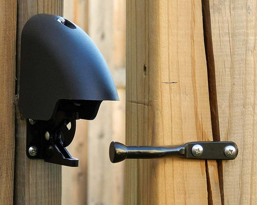 best driveway gate lock