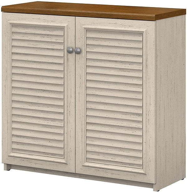 louvered cabinet