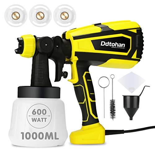 Ddtohan 600W High Power HVLP Home Spray Gun