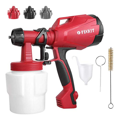 500 Watt High Power Electric Spray Gun with Three Spray Patterns