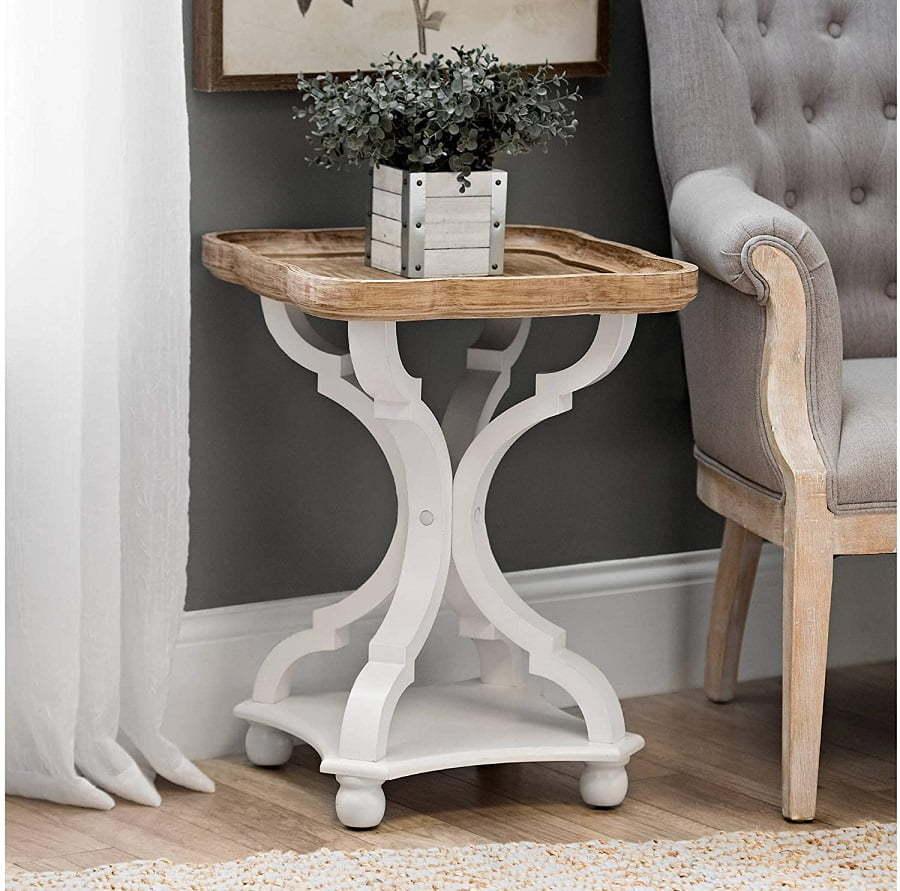 farmhouse accent table