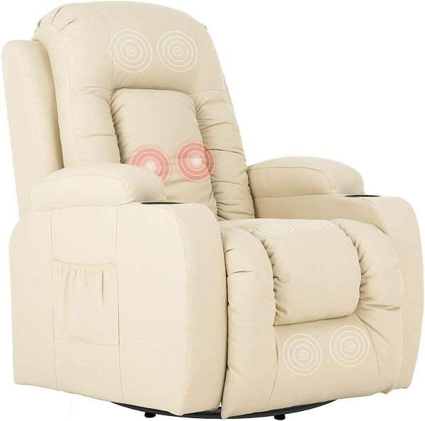 heated massage recliner