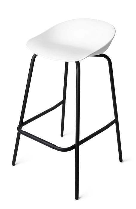 metal legged stool