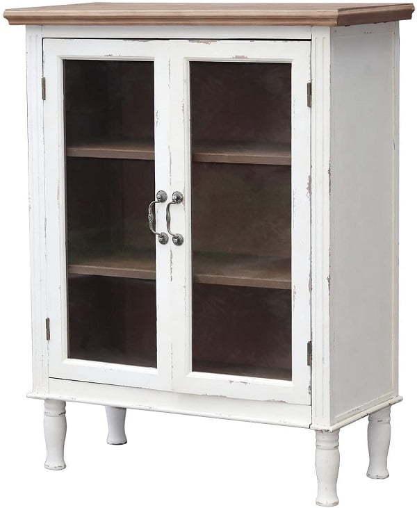 distressed kitchen cabinet