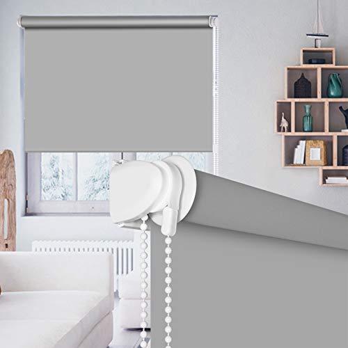 SEEYE Blackout Waterproof Fabric Window Roller Shades Blind