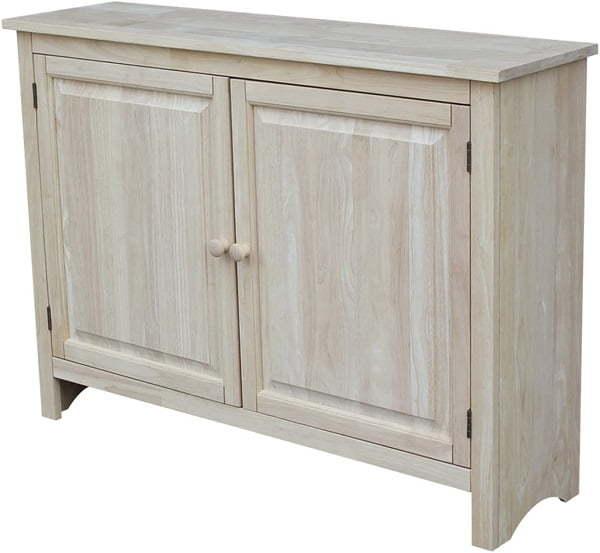 unfinished kitchen cabinet