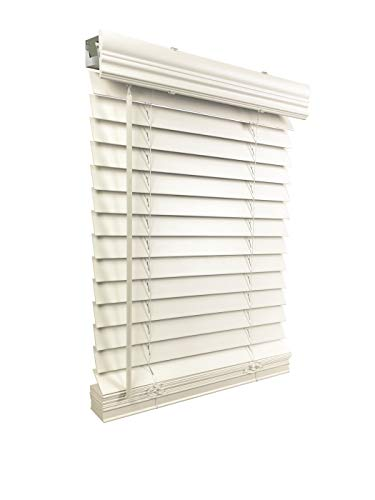 US Window And Floor Faux Wood Cordless Blinds