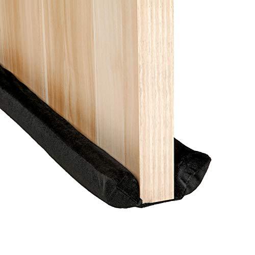 VERGILIUS Under Door Draft Stopper Adjustable Double Noise Blocker Sweep