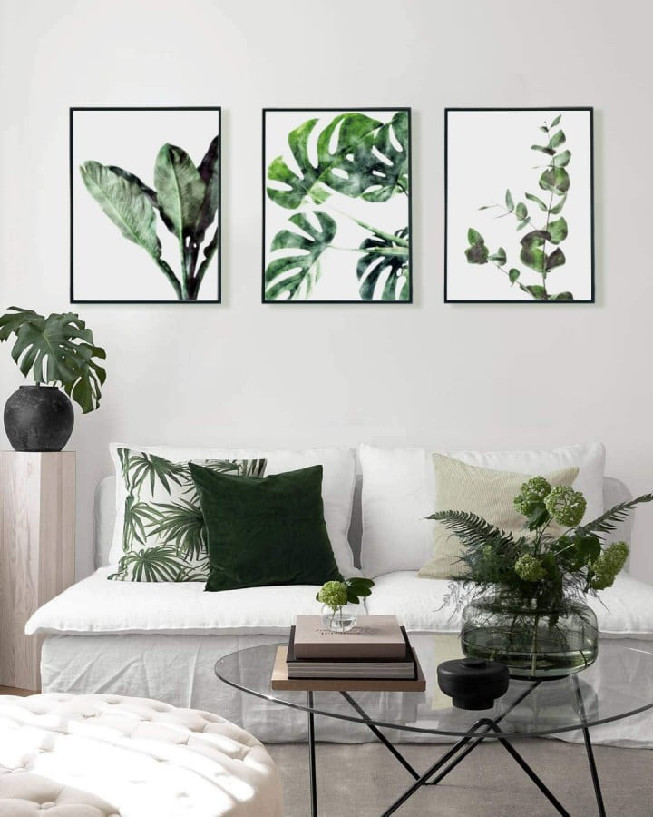 Bunny And Blade Botanical Wall Art – Premium