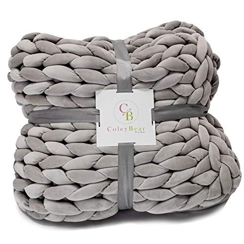 Coleybear Weighted Hand Woven Chunky Knit Yarn