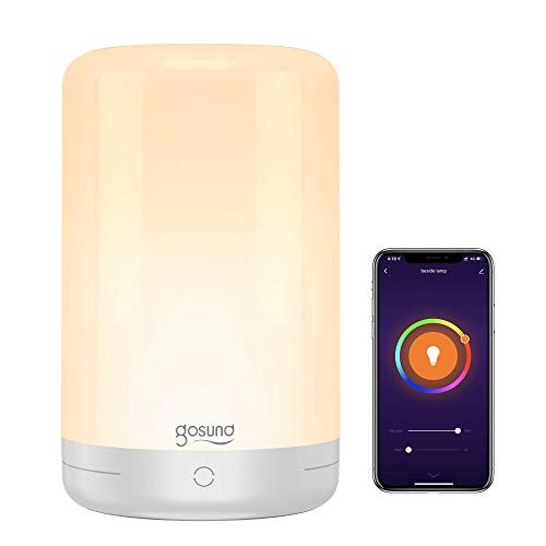Smart Table Lamp, Gosund Wifi Touch Bedside Lamp