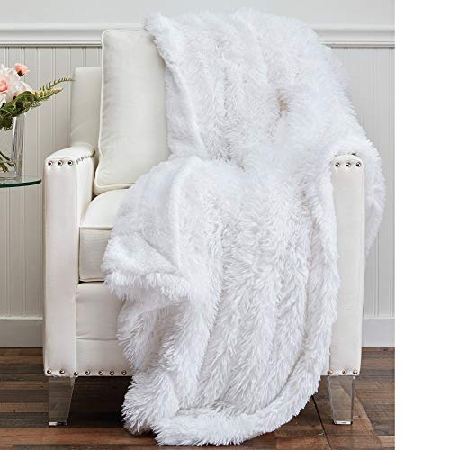 The Connecticut Home Company Shag With Sherpa