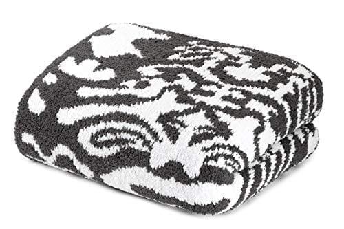 Kashwere Heavenly Soft Throw Blanket (slate/white,