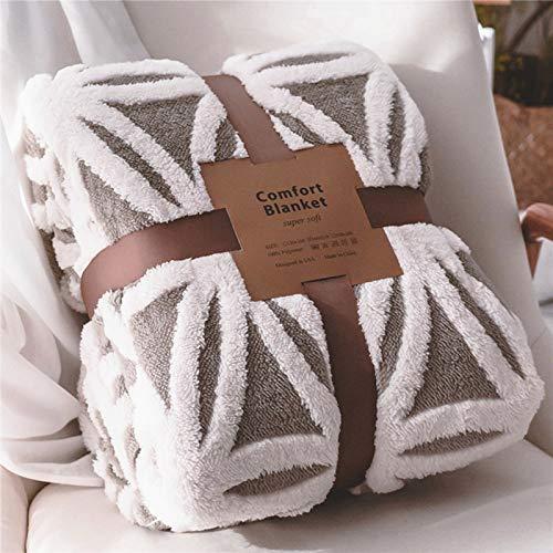 Lomao Sherpa Fleece Blanket Fuzzy Soft Bed Blanket