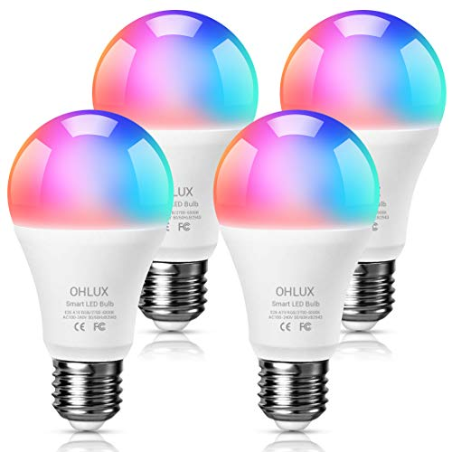 Ohlux Smart Wifi Led Light Bulbs Compatible With