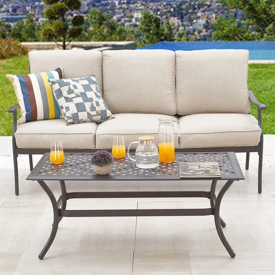Patiofestival Patio Conversation Set Cushioned