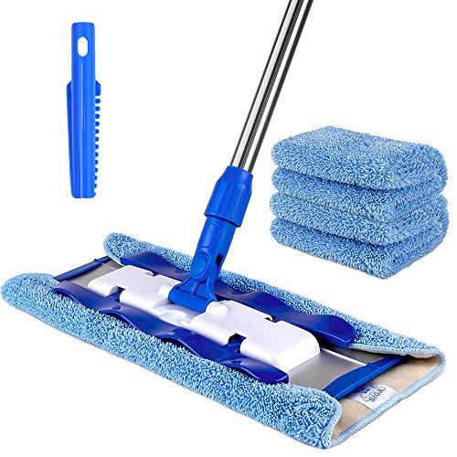 Mr.siga Professional Microfiber Mop For Hardwood,