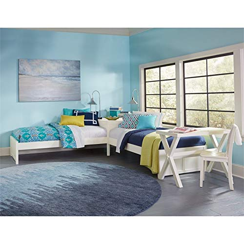 Rosebery Kids Twin L-shaped Corner Platform Bed