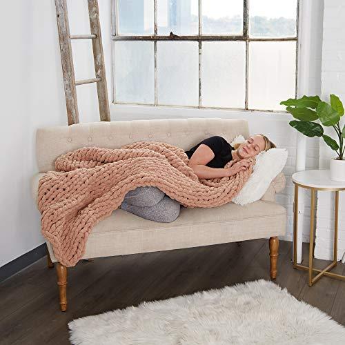 "Sahyo Large Soft Chenille Blanket (50""x60"") -"