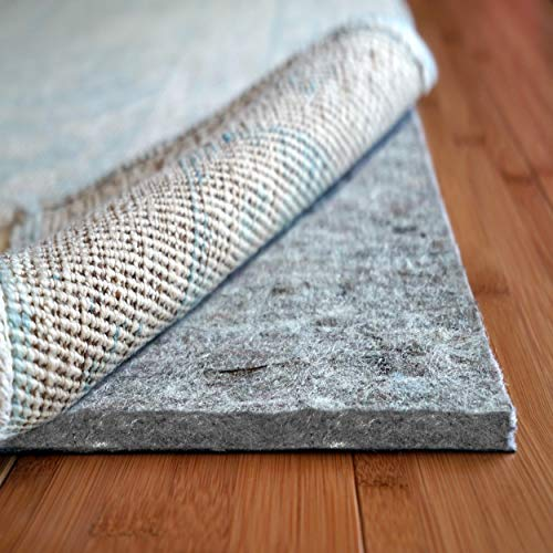 """Rug Pad Usa, 7/16"""" Thick, Felt And Rubber, 8'x10',"""