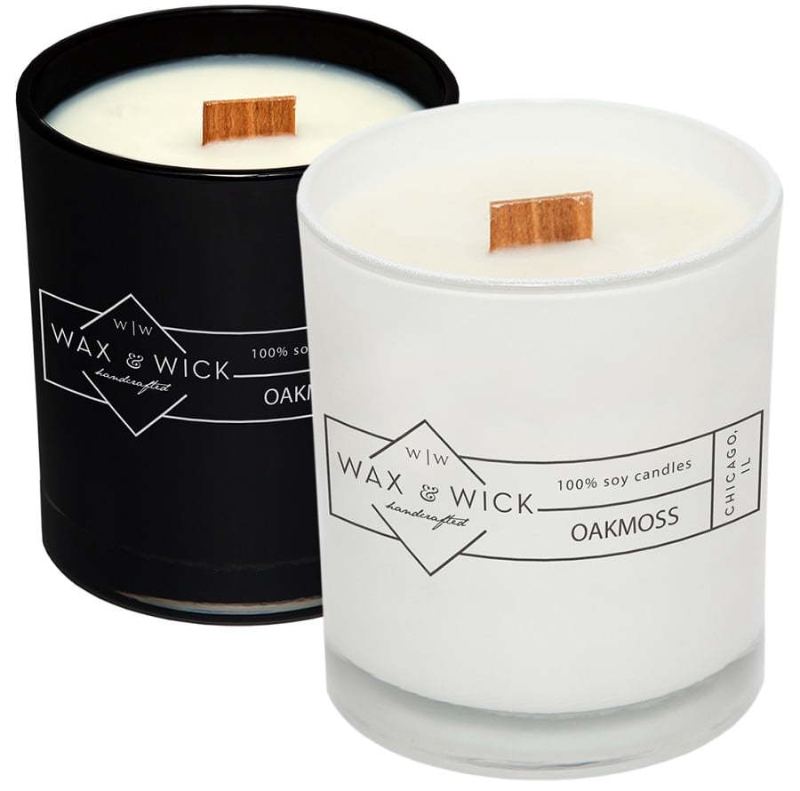 wax wick soy candles