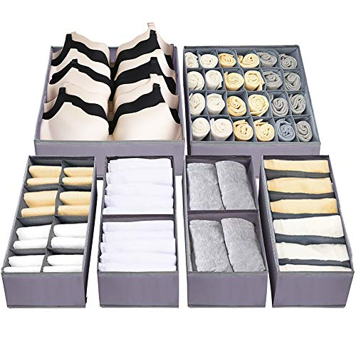 Jay-Chi Drawer Organizer For Clothes