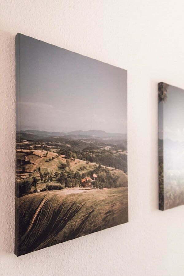 wall canvas print landscape