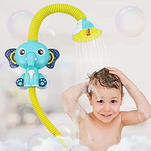 Fajiabao Elephant Bath Toys For Toddlers, Bathtub