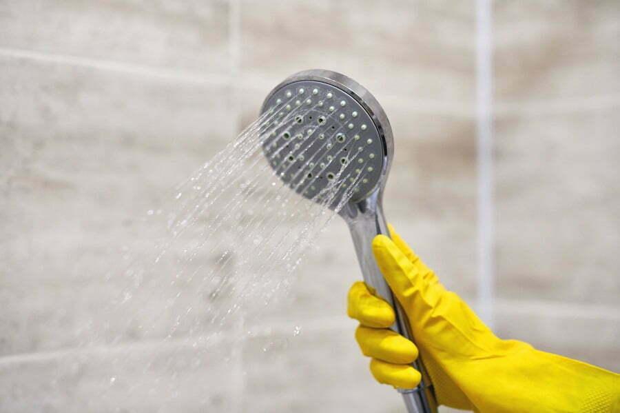 plastic showerhead