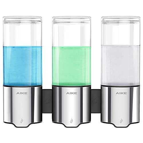 Aike Triple Automatic Soap And Shower Dispenser