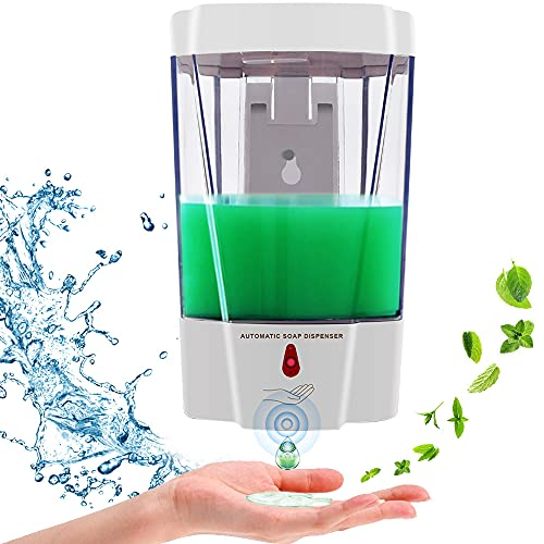 Automatic Soap Dispenser, Fully Transparent Hand